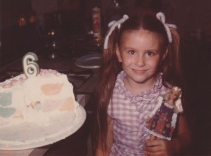 My 6th birthday cake