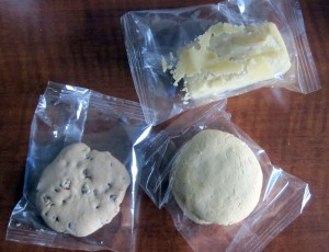 Coconut  Cake, Chocolate Chip Cookies, and Sablé Cookies from Baked2Go