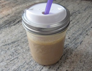 Protein Shake in Jar